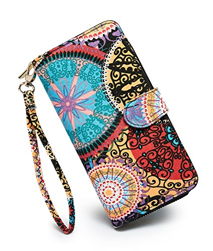 Our #6 Pick is the Loveshe Wristlet Wallet