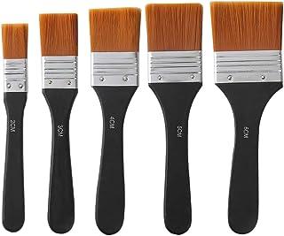 Lezed Pinceles de Nylon de Artistas de Acrílico para Pintura al óleo Pincel de Artista de Acuarela Pincel Pluma Arte Broch...