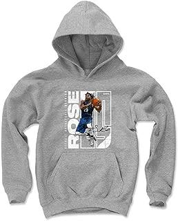 500 LEVEL Derrick Rose Detroit Basketball Kids Hoodie - Derrick Rose Stretch