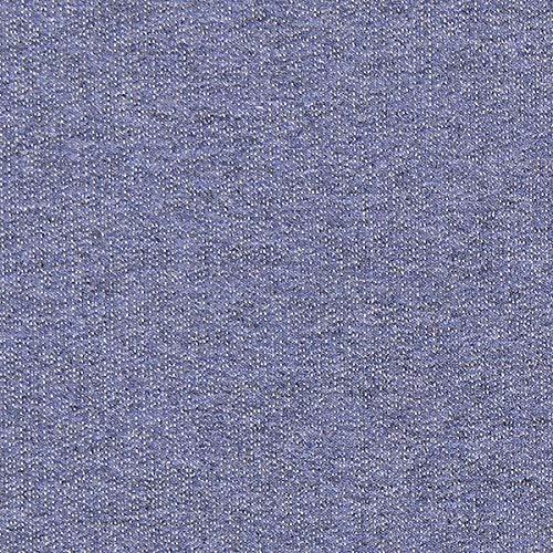 Fabulous Fabrics Sommersweat Melange – Jeansblau — Meterware ab 0,5m — Oeko-Tex Standard 100 Produktklasse I — zum Nähen von Frühlings-/Sommerkleidung, Kinderbekleidung und Sweatshirts