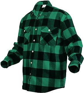 Heavyweight Plaid Flannel Shirt