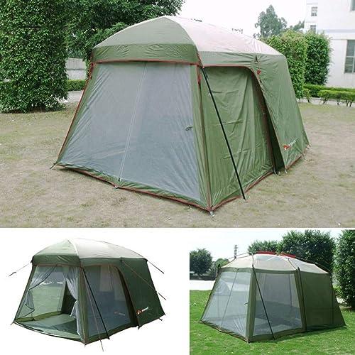 Ashuang Une Tente Une Chambre 5-8 Personnes Double Couche 200cm Hauteur Tente de Camping étanche dans
