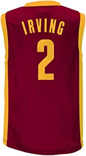 Kyrie Irving Cleveland Cavaliers #2 Burgundy Youth Home Player Jersey