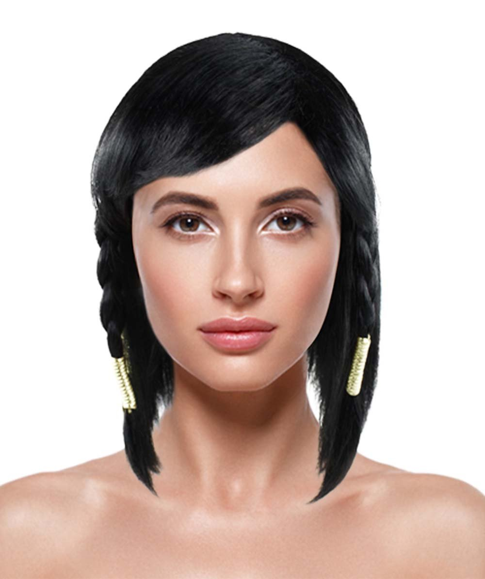 Overwatch-Pharah Costume Free shipping / New Wig Super sale HW-1392