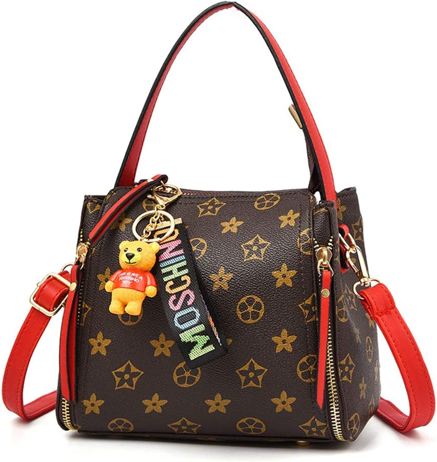 Z.H-H Wild Fashion, Small Fresh Ladies, Casual, Simple, Large-Capacity Personality Single Shoulder Slung Small Square Bag