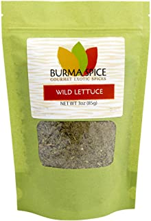 Wild lettuce leaf (100% Kosher Lactuca Virosa) l Natural opium lettuce for pain relief and sleep aid l 3 Ounces l