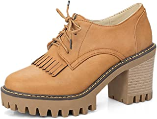 BalaMasa Womens APL12037 Pu Block Heels