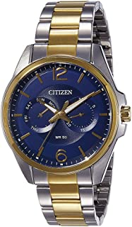 Citizen Casual Watch For Men Analog Stainless Steel - AG8324-54L