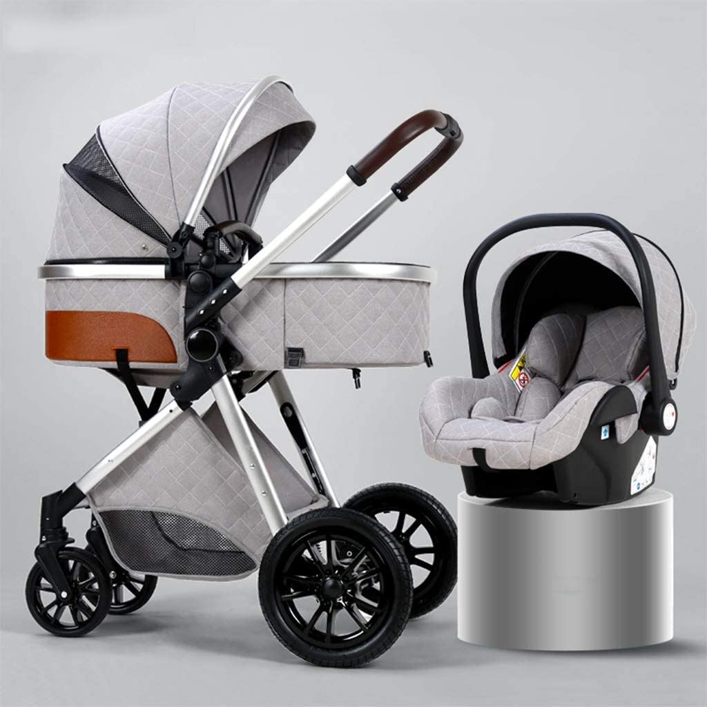 Clearance SALE! Limited time! GXDJC Pushchair Stroller 3 in 1 Shock Absorption Baby Limited price sale S Folding