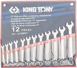 Jogo Chave Combinada 45 Graus com 12 Pcs (8-22Mm), Kingtony Br, 1272Mr01, 8-22 Mm