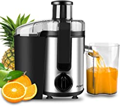 Juicer, Picberm Centrifugal Juicer Machines Easy to Clean, Wide Mouth Juice Extractor..