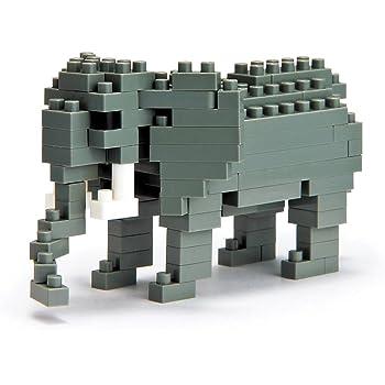 ナノブロック アフリカゾウ