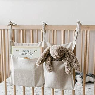 Baby mehrzweck hängende Lagerung Krippe Organizer Windel Tasche Bettwäsche