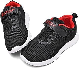 ziitop کفش کودکان و نوجوانان دختران کفش ورزشی کفش های تنیس سبک وزن در حال اجرا کفش های تنی ورزشی ورزشی تنفس تنفس کفش ورزشی