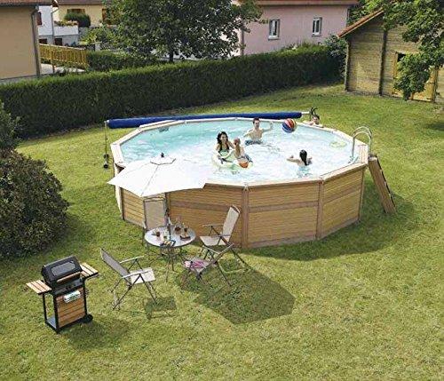 Zodiac Azteck maxiwood piscina redondos de madera 5 m: Amazon.es ...