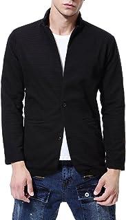 AOWOFS Men's Blazer Jacket Suits Coat Two Bottons Slim Fit Blazers