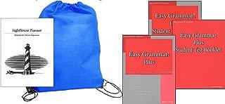 Easy Grammar Grade Plus (Grades 7-12) SET homeschool kit in a bag