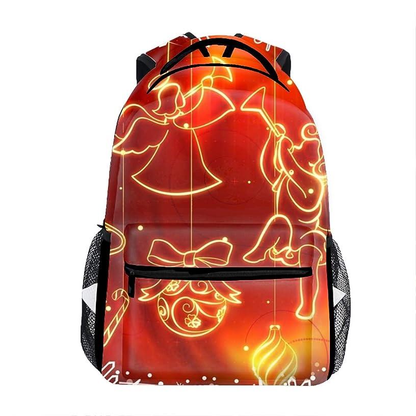 Laptop Backpacks Christmas Angel Decor Women Travel Daypack Bag