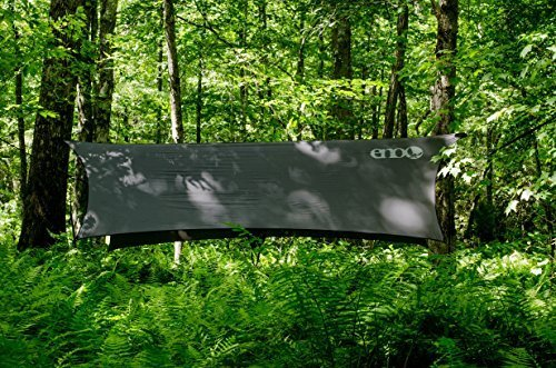 Product Image 1: ENO, Eagles Nest Outfitters ProFly Rain Tarp, Ultralight Hammock Accessory, Olive