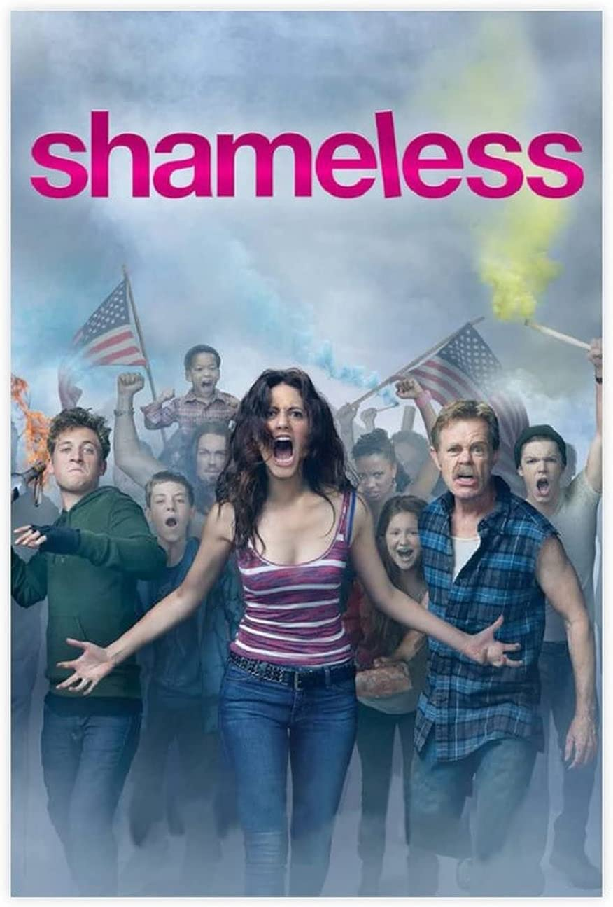 Shameless TV Series Poster Dormitory Po Canvas Super Special SALE held 2021 new Club 1 Restaurant