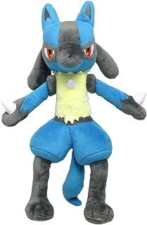 Sanei Pokemon All Star Series Lucario Stuffed Plush, 12