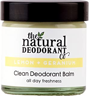 Clean Deodorant Balm Lemon + Geranium by The Natural