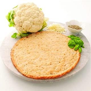 Edgy Veggie Seasoned Cauliflower Gluten Free Thin Pizza Crust, Non GMO, 10