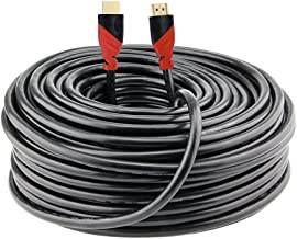 Million Premium HDMI Cable (80 Feet)-for in-Wall Installation- Supports 3D and Audio Return - Delivers 1080p Video on Amaz...