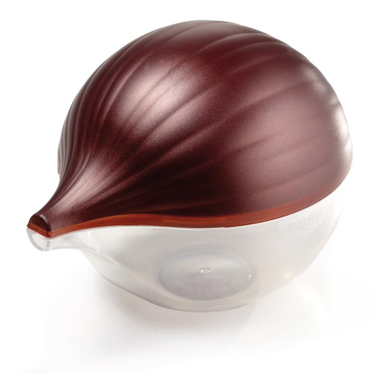 エネルギー小さなミリメートルSnips Salva Cipolla Clear Plastic Onion Saver, Purple by Snips