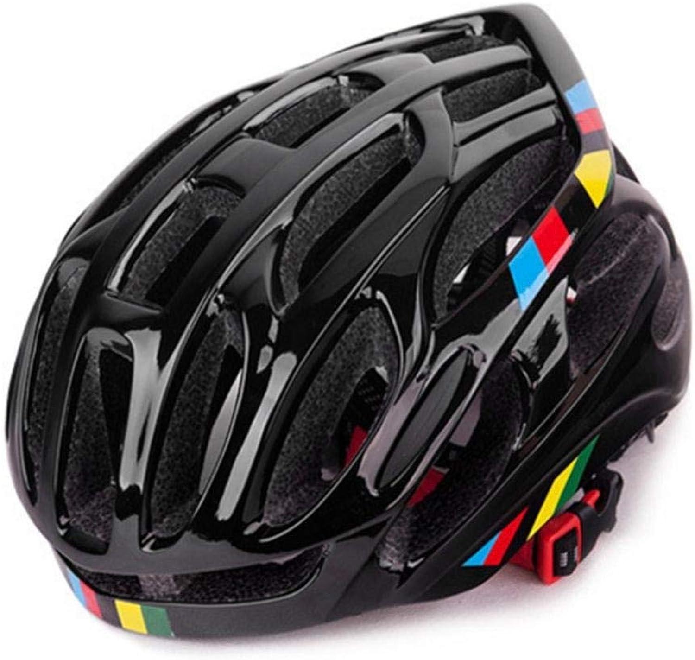 genuina alta calidad HJOMX casco de de de bicicleta casco de ventilación casco de bicicleta casco de bicicleta transpirable para hombres y mujeres casco de bicicleta luz trasera totalmente moldeado casco de bicicleta de Cocheretera Montaña  marca