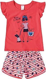 Conjunto blusa e shorts Marisol Play