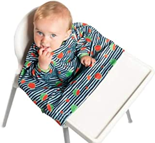 Weaning Bib, BIBaDO Baby Feeding Coverall Straps To Any Highchair, Ideal for BLW
