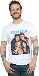 Absolute Cult Riverdale Hombre Group Photo Camiseta
