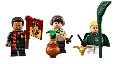 LEGO Harry Potter Collectible Minifigures Draco Malfoy, Neville Longbottom, and Dean Thomas