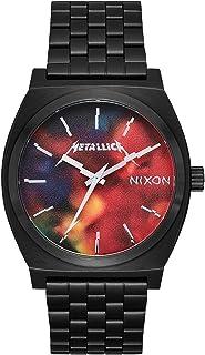 ساعة تايم تيلر A045 من نيكسون. ساعة مقاومة للماء حتى عمق 100 متر (وجه الساعة من الستانلس ستيل 37 ملم)