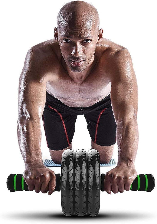 Roller Exercise Wheel Abdominal Exerciser 3 Wheel with Foot