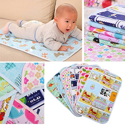 Bazaar Bande dessinée de mode infantile bébé réutilisable imperméable à l'eau mat d'urine matelas à langer aborsbent