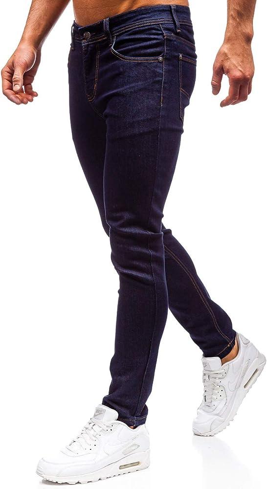 Bolf pantaloni , jeans denim  straight leg , sfumature  di moda per  uomo 6f6,98% cotone, 2% elastan KA1581