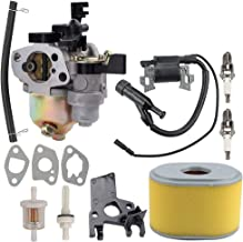 Coolwind 16100-ZH8-W61 Carburetor with Air Filter Tune Up Kit for Honda GX160 GX200 5.5HP 6.5HP Engine WP30X Water Pump Pressure Washer Carb