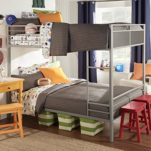 Weston Home Full Over Full Metal Bunk Bed