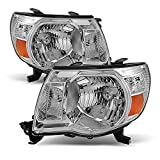 ACANII - For 2005-2011 Toyota Tacoma Pickup Truck Headlights Headlamps 05-11 Driver + Passenger Side Lights Lamps