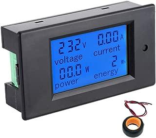 Voltímetro Amperímetro con pantalla LCD Digital AC