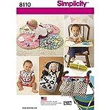 Simplicity Bebés Alfombrillas/Cochecito Accesorios patrón de Costura y...