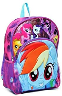 "My Little Pony 3D Molded 16"" Backpack Large Purple"