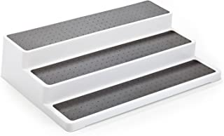 Home Intuition 3-Tier Spice Rack Step Shelf Cabinet Organizer