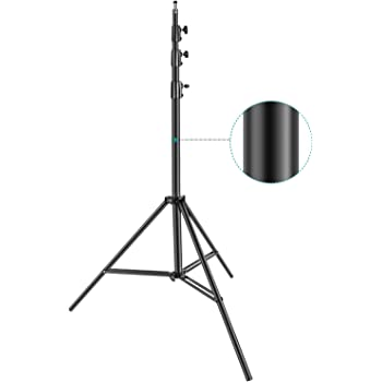 13 4m 2 Pack Impact Heavy Duty Light Stand Black