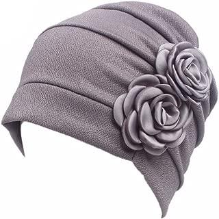 MoreChioce Musulmano Turbante cap con Copricapo a Trecce,Bandana Sciarpa Cappello Chemo,Cancro cap Chemioterapia