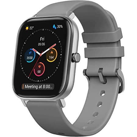 Amazfit GTS Smartwatch Orologio Intelligente Fitness 5 ATM Impermeabile Durata Batteria Fino a 14 Giorni con GPS, 12 modalità di Allenamento, Contapassi, Monitor del Sonno per Sport