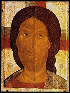 Jesus Christ Pantocrator icon POSTER 12x18 Russian Byzantine icon Christian Orthodox print