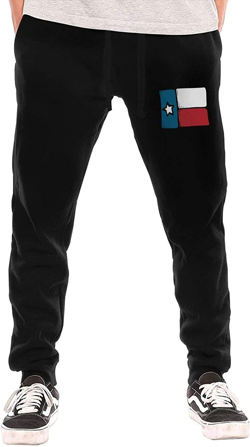 Hhill Swater Vintage Texas Flag Pants Deluxe Casual Men's Joggers Seattle Mall Work